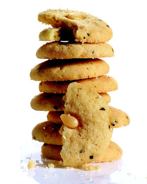 Pine-Nut Cookies with Rosemary