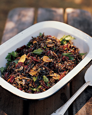 Wild Rice Salad with Dried Cherries