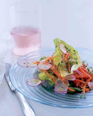 Butterhead Lettuce and Spring Vegetable Salad