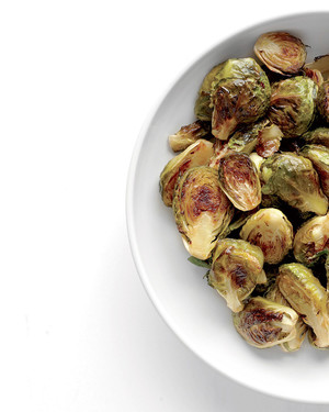 Brussels Sprouts with Maple and Cayenne
