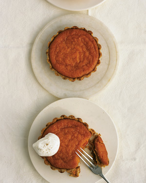 Mini Carrot-Cardamom Pies