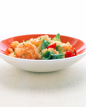 Couscous and Shrimp With Cumin Dressing
