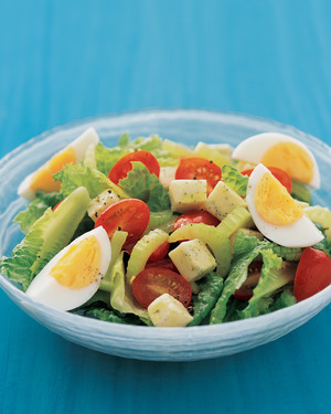 Green Salad with Hard-Cooked Eggs