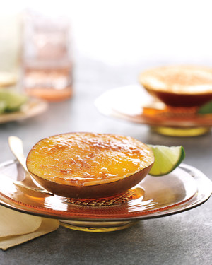 Mango Brulee with Lime
