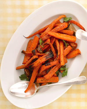 Easy Roasted Carrots and Shallots