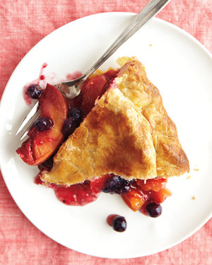 Peach-Blueberry Pie