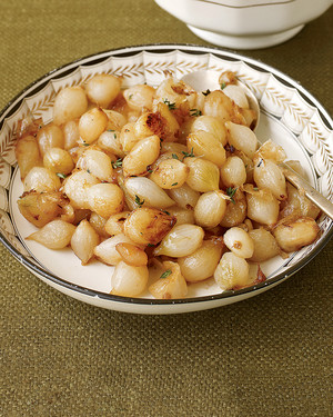 Sugar-Glazed Pearl Onions