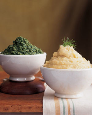 Caramelized Onion and Fennel Mashed Potatoes