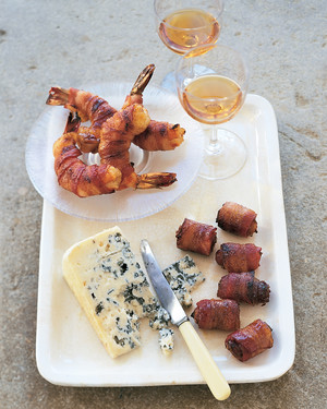 Bacon Wrapped Shrimp and Dates