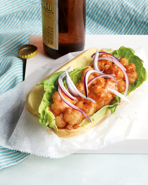 Shrimp Rolls with Smoked Paprika Remoulade
