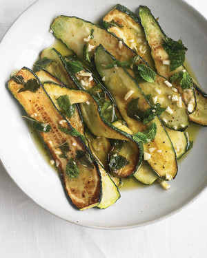 Marinated Zucchini with Mint
