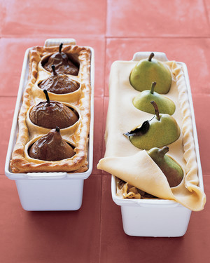 Pear and Sausage Pie