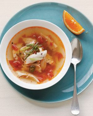 Spicy Indian Chicken Soup