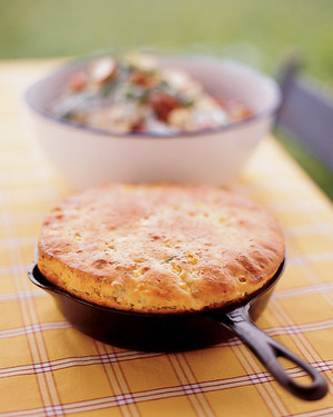 Cottage Cheese-Dill Skillet Bread