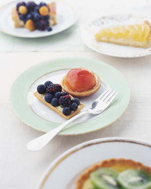 Pastry Cream for Berry Tartlets