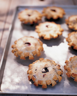 Pate Brisee for Mini Blueberry Pies