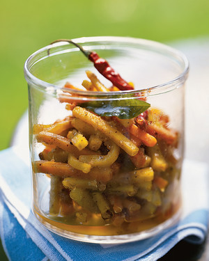 Carrot Pickle with Indian Spices