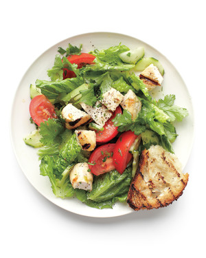 Grilled Chicken and Herbs Salad