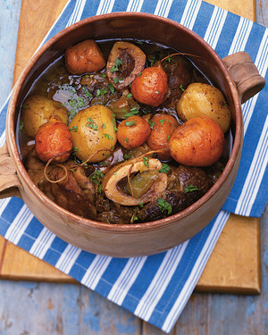 beef and carrot shin stew