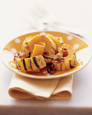 Delicata Squash with Caramelized Seeds