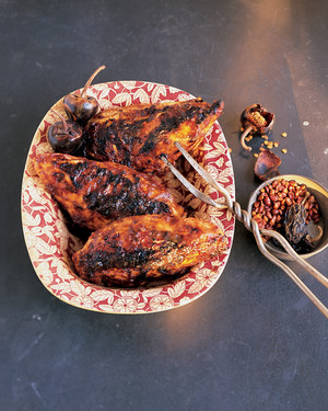 Grilled Chicken with Spicy Barbecue Sauce