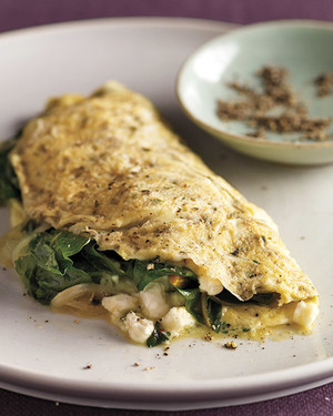 Greens and Herb Omelet