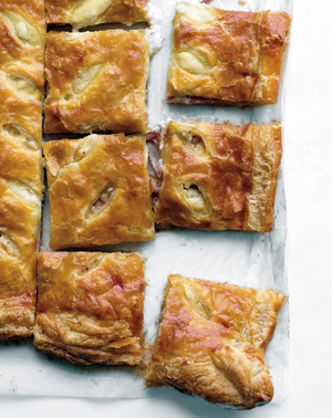 Ham and Cheese Puff Tart