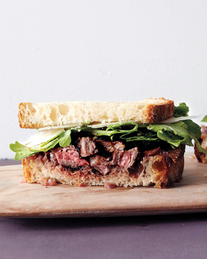 Grilled Steak and Onion Sandwich