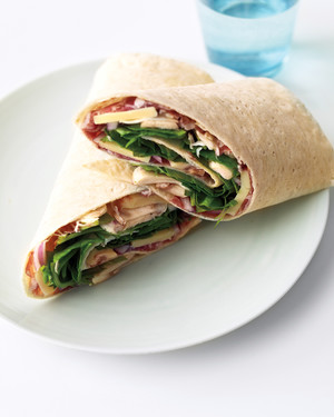 Prosciutto and Gruyere Wraps