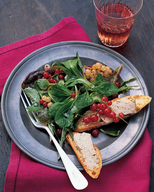 Tender Lettuces with Pickled Currants