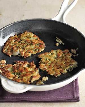 Potato and Chicken Hash Cakes