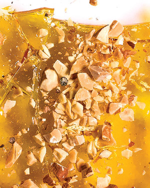 Lemon and Almond Brittle