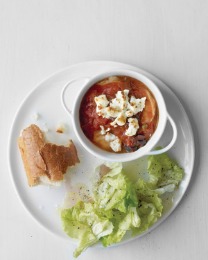 Quick Broiled Shrimp with Tomato and Feta