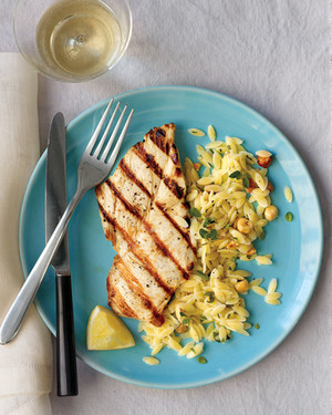 Grilled Chicken with Oregano and Lemon
