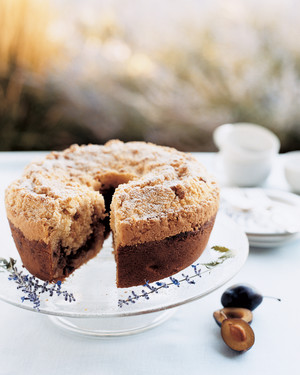 Plum and Pinon Coffee Cake