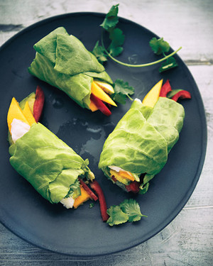 Ceviche Spring Rolls