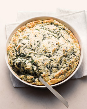 Lighter Souffled Spinach