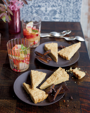 Whole-Wheat Shortbread Cookies