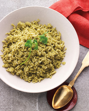 Herb and Scallion Rice
