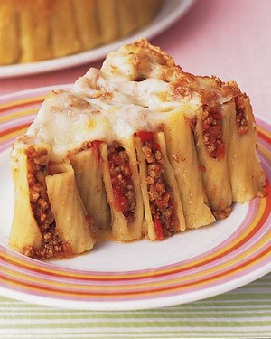 Baked Ziti With Ground Beef Martha Stewart