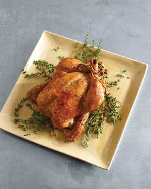 Roast Chicken with Garlic and Thyme