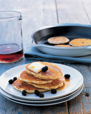 Mulberry Pancakes