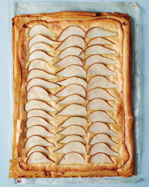 Almond-Pear Tart