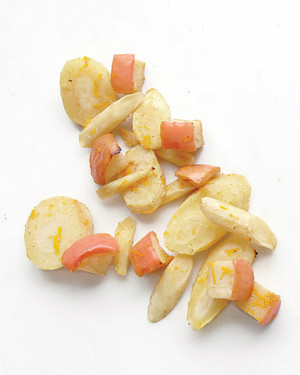 Roasted Parsnips and Apples