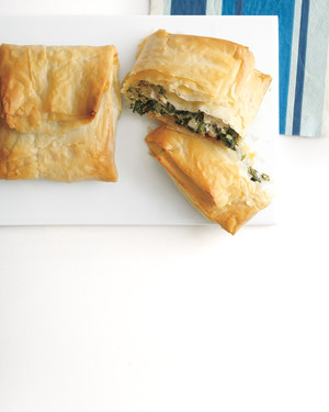 Spinach-and-Turkey Hand Pies