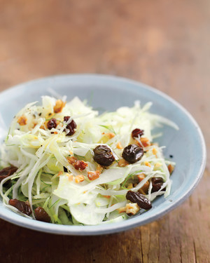 Green Cabbage and Fennel Slaw