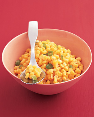 Sauteed Corn with Paprika Butter