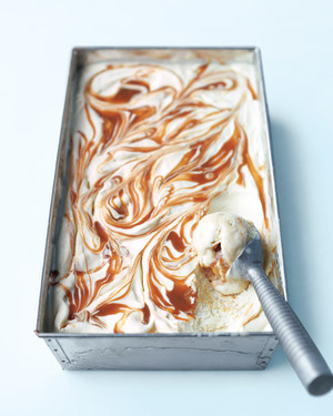 Banana-Caramel Ice Cream