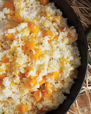 Squeamish Squash with Rice image