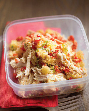 Easy Chicken and Bulgur Salad